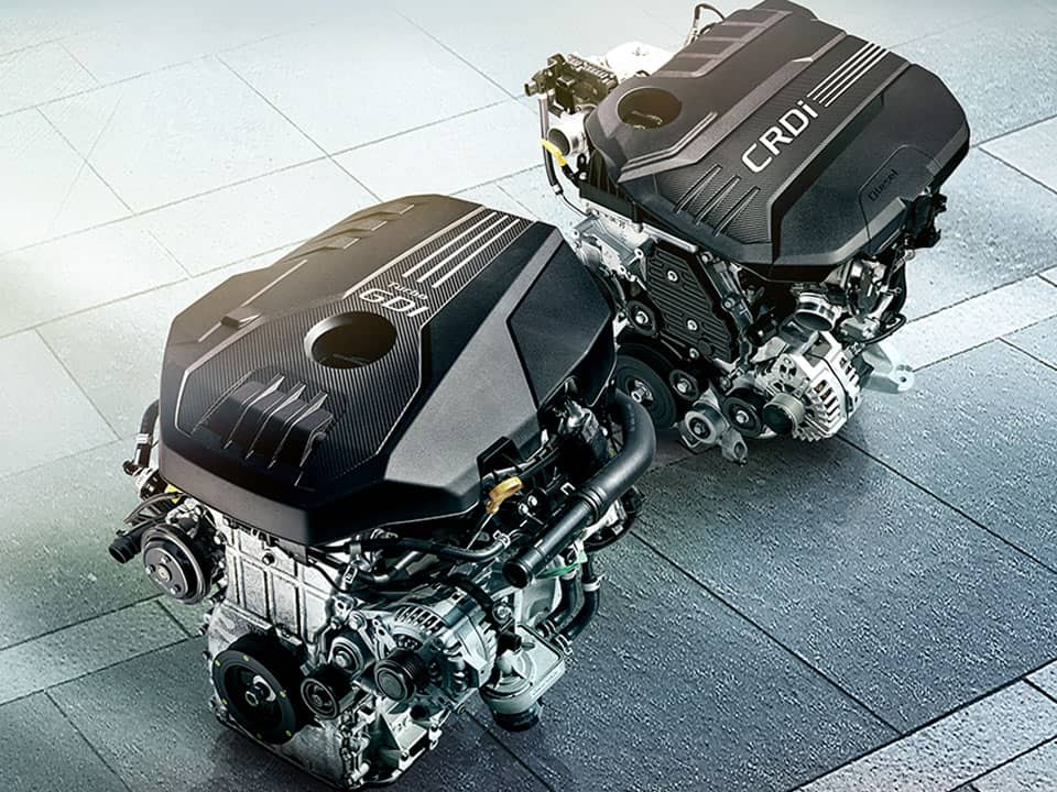 Kia Stinger engines